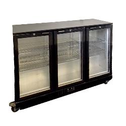 Verrijdbare koeling 3 deurs 320 liter