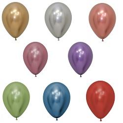 Ballonnen 30 cm Reflex (Chrome) €0,50