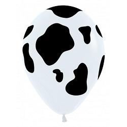 Ballonnen Koeienprint 30 cm €0,50
