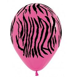 Ballonnen Zebra Fuchsia 30 cm €0,50