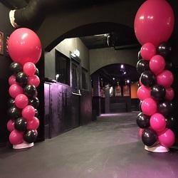 Ballonpilaar 1,5 meter met topballon