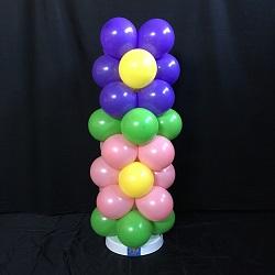 Ballonpilaar 2 Bloemen