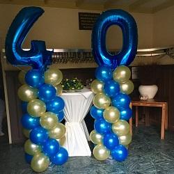 Ballonpilaren Verjaardag 40 jaar @ Cafe Vallen Vleuten
