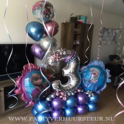 Bouquet 3 Jaar Frozen