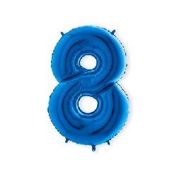 Folie Cijferballonnen 100 cm 0 t/m 9 Donkerblauw €5,95