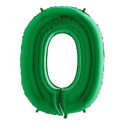 Folie Cijfer Ballonnen 0 t/m 9 Groen €5,95