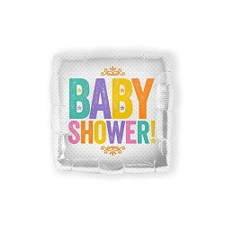 Folieballon Baby Shower Block