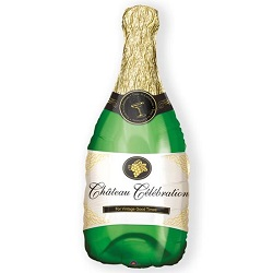Folieballon Champagne bottle SuperShape €6,95