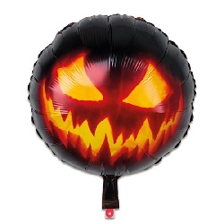 Folieballon Creepy Pumpkin €2,95