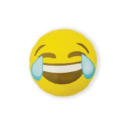 Folieballon Emoji Crying Laughing €2,95