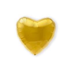 Folieballon Hart Goud 46 cm €2,95