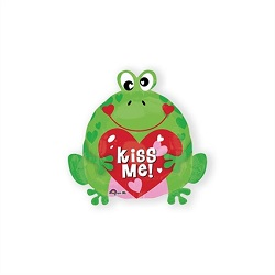 Folieballon Kikker Kiss Me €3,95