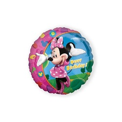 Folieballon Minnie HBD €4,50