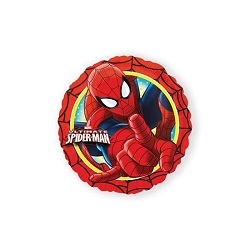 Folieballon Spiderman rond €4,50