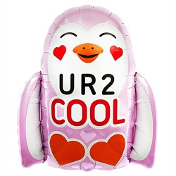 Folieballon U R 2 COOL €3,95