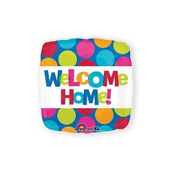Folieballon Welcome home vierkant €3,95