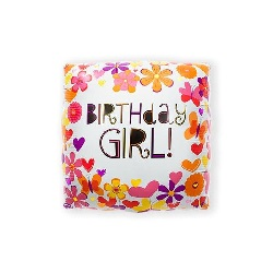 Folieballon Butterfly Birthday Girl €2,95