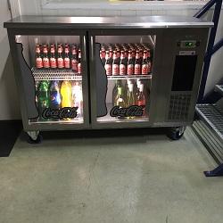 Verrijdbare koeling 2-deurs 364 liter