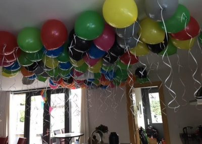 Heliumballonnen kleuren gemixt