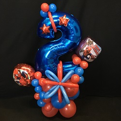 Ballonnen Bouquet Spiderman