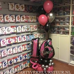 Ballonnen Bouquet Sweet 16 klein