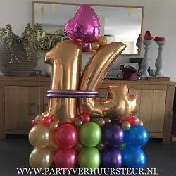 Ballonnen Bouquet 14 Jaar