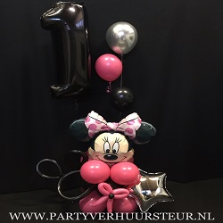 Ballonnen Bouquet Minnie Mouse