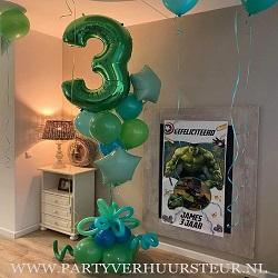 Ballonnen Bouquet Groen