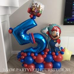 Bouquet 5 Jaar Super Mario Bros