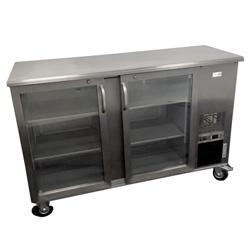 Verrijdbare koeling 2 deurs 364 liter