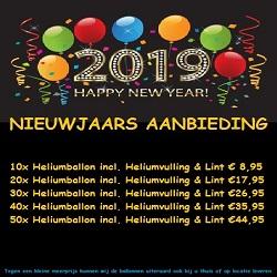 Aanbieding Heliumballonnen