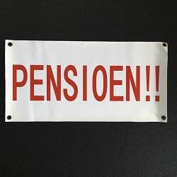 Spandoek Pensioen €2,50