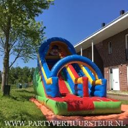 Springkussen Clown Slide €125,00