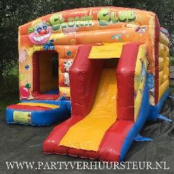 Springkussen Maxi Multifun Clown €90,00