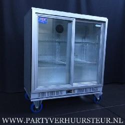 Verrijdbare POLAR koeling met schuifdeuren 223L €25,00