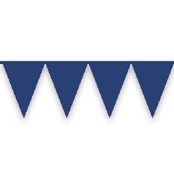 Vlaggenlijn Donkerblauw 10 meter
