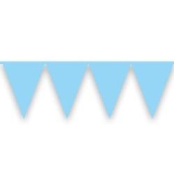 Vlaggenlijn Lichtblauw 10 meter
