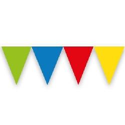 Vlaggenlijn Multikleuren 10 meter