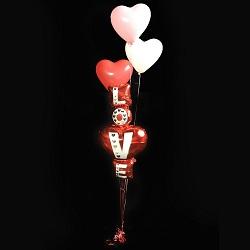 Vloerdeco Valentijn Set