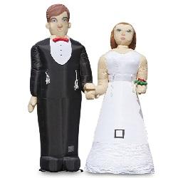Opblaasbaar Bruidspaar 3,8m €45,00